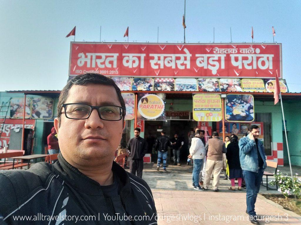Biggest Paratha in India