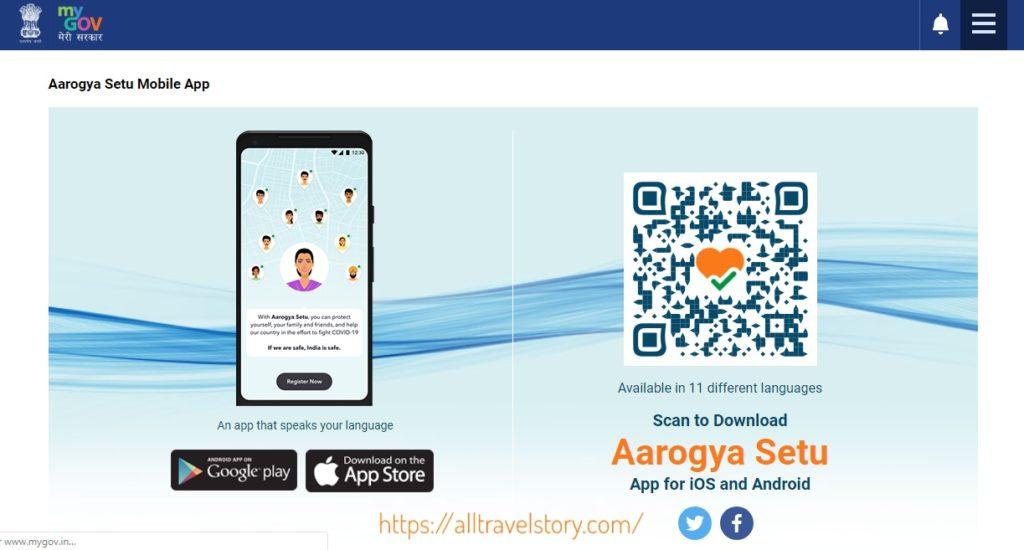 Aarogya Setu App Google Play